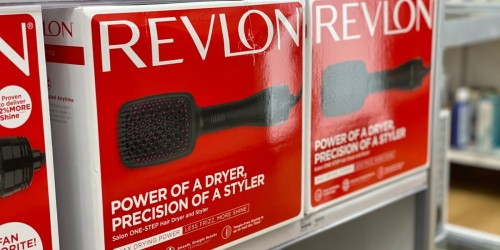 Revlon Hair Dryer Brush Only $19.99 at ULTA (Regularly $40)