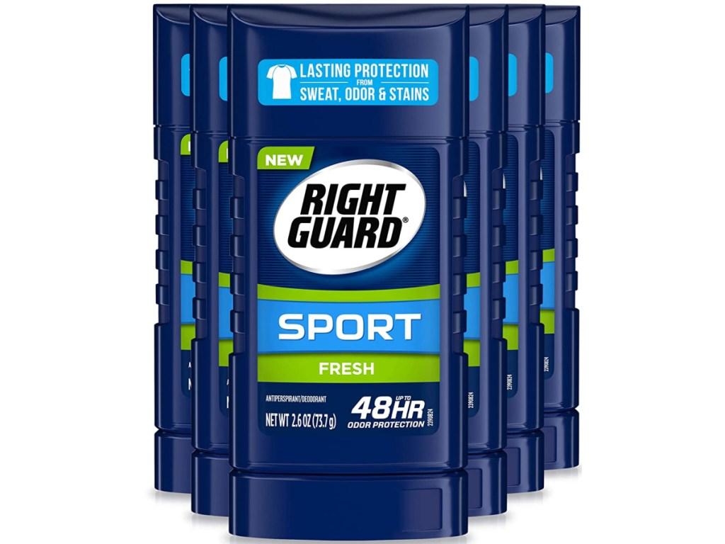 Right Guard Sport Antiperspirant Deodorant 6-Pack