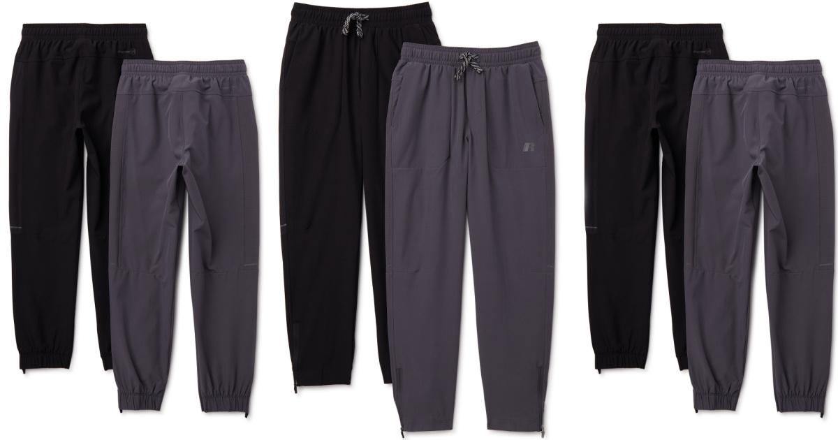 six pairs of boys pants