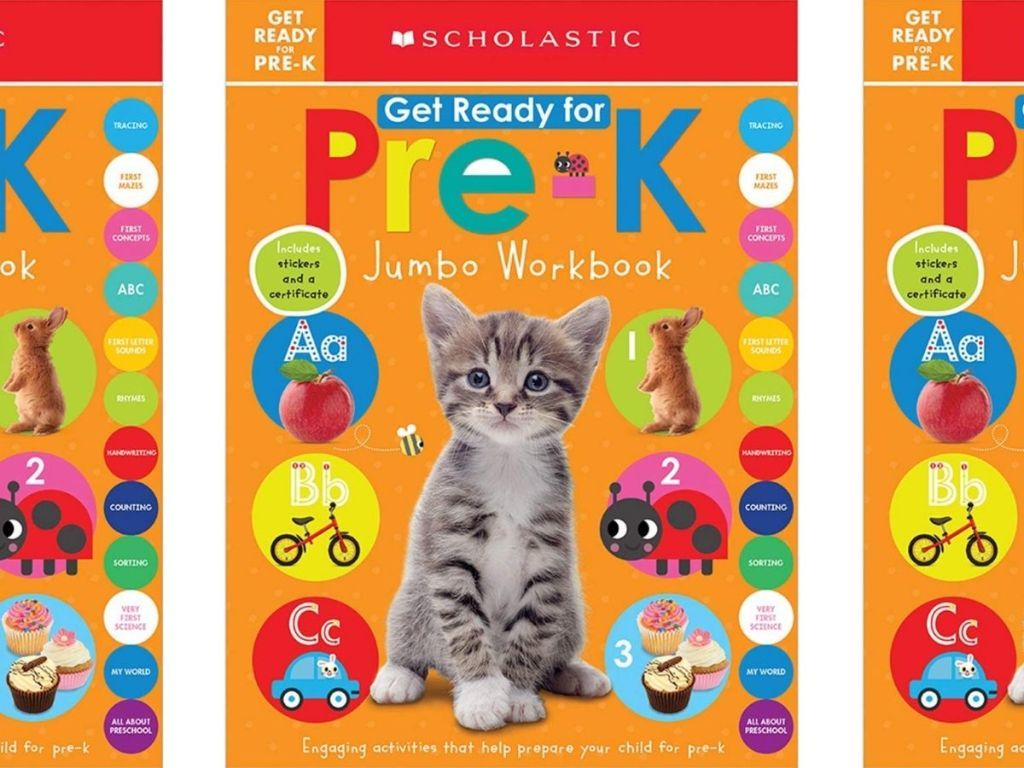 Scholastic Get Ready For Pre-K Workbook