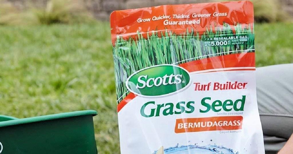 Scotts Turf Builder Grass Seed Bermudagrass 1lb Bag