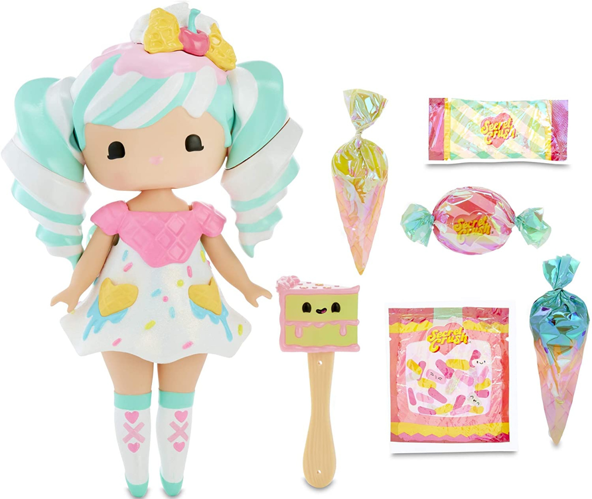 doll playset with accessories