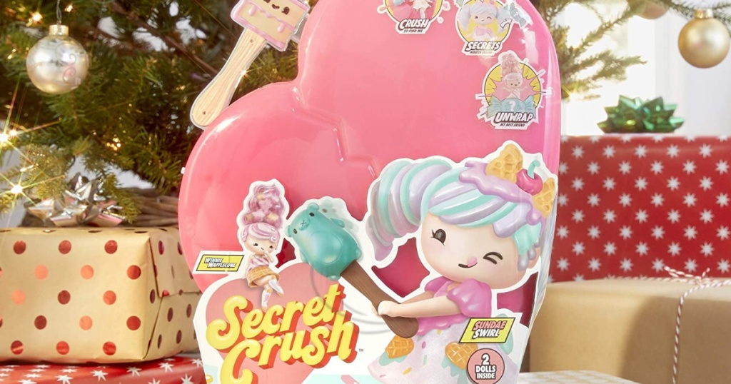 Secret Crush toy set under the Christmas Tree