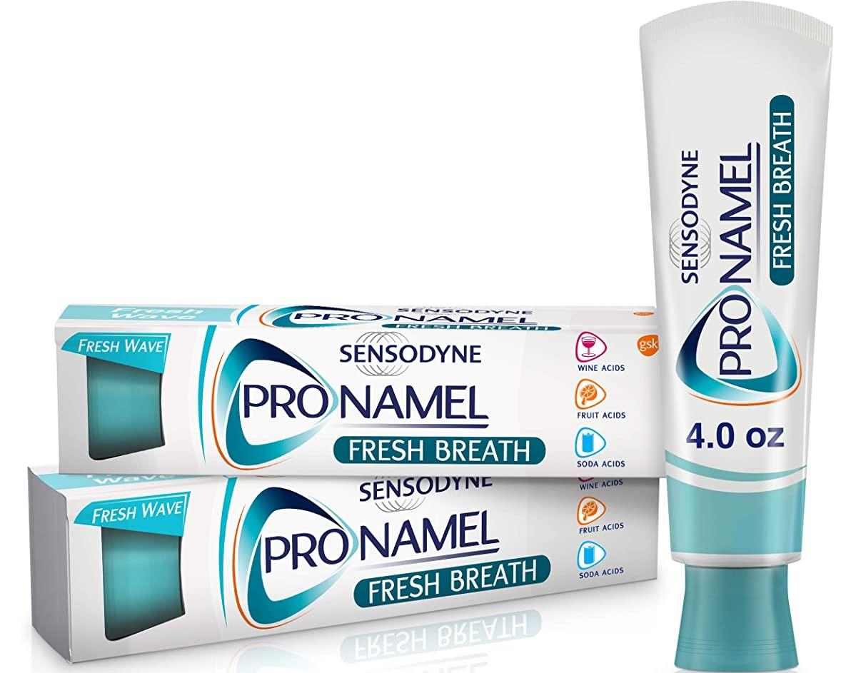 Sensodyne Fresh Breath toothpaste