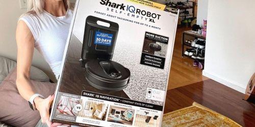 Refurbished Shark IQ Robot Vacuum w/ Self-Empty Base Just $269.99 Shipped for Amazon Prime Members (Regularly $600)
