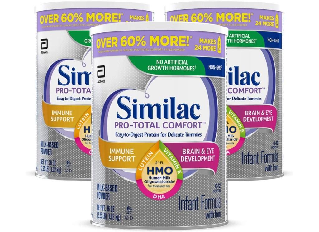 similac pro comfort formula 3 pack