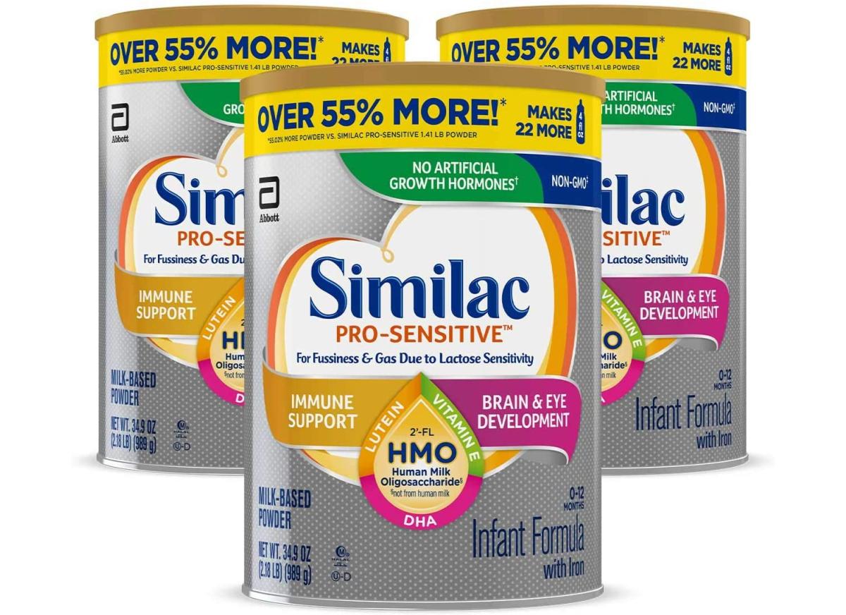 similac sensitive 3-pack