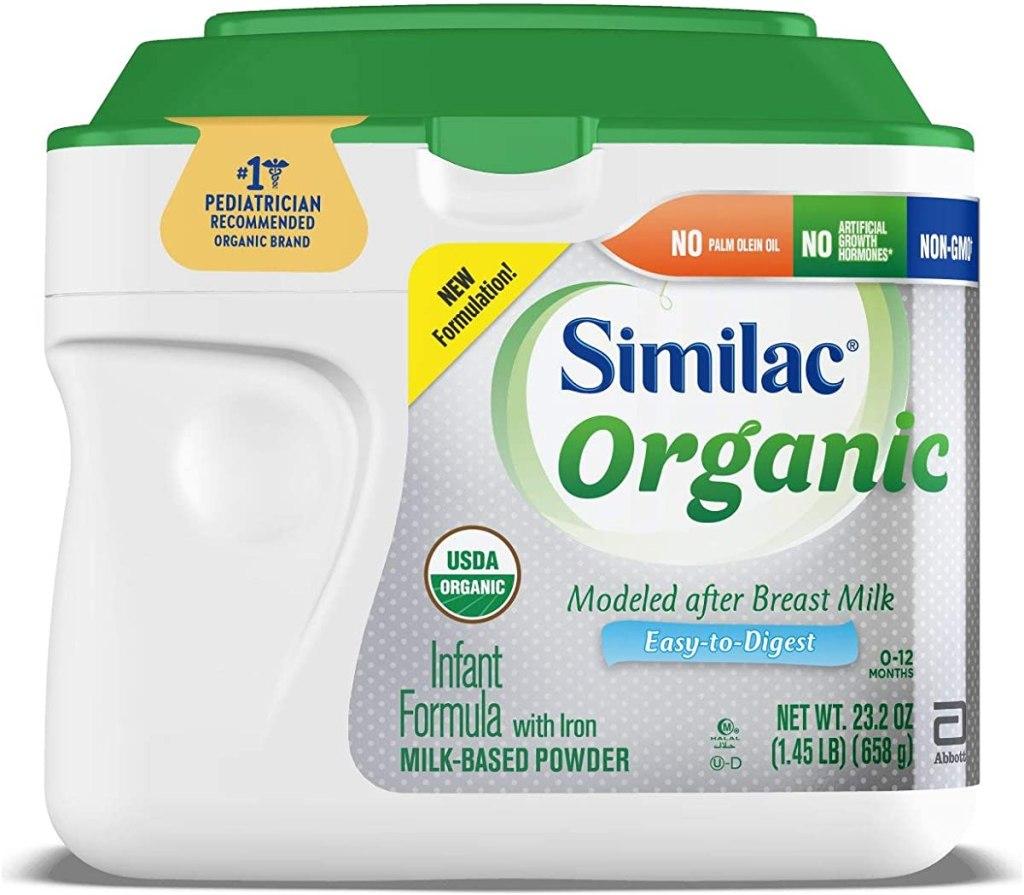 Similac Organic Infant Formula