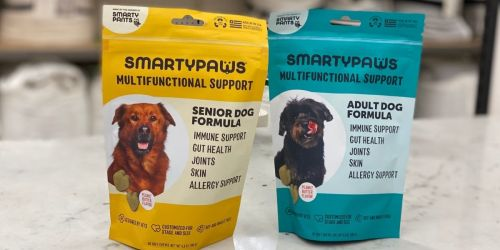 SmartyPaws Dog Supplements 60-Count Only $11.99 at Target (Regularly $25)