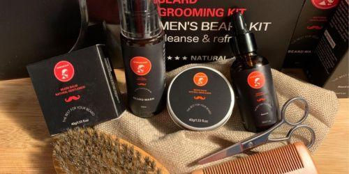 Beard Grooming Kit Only $6.99 on Amazon (Regularly $20)