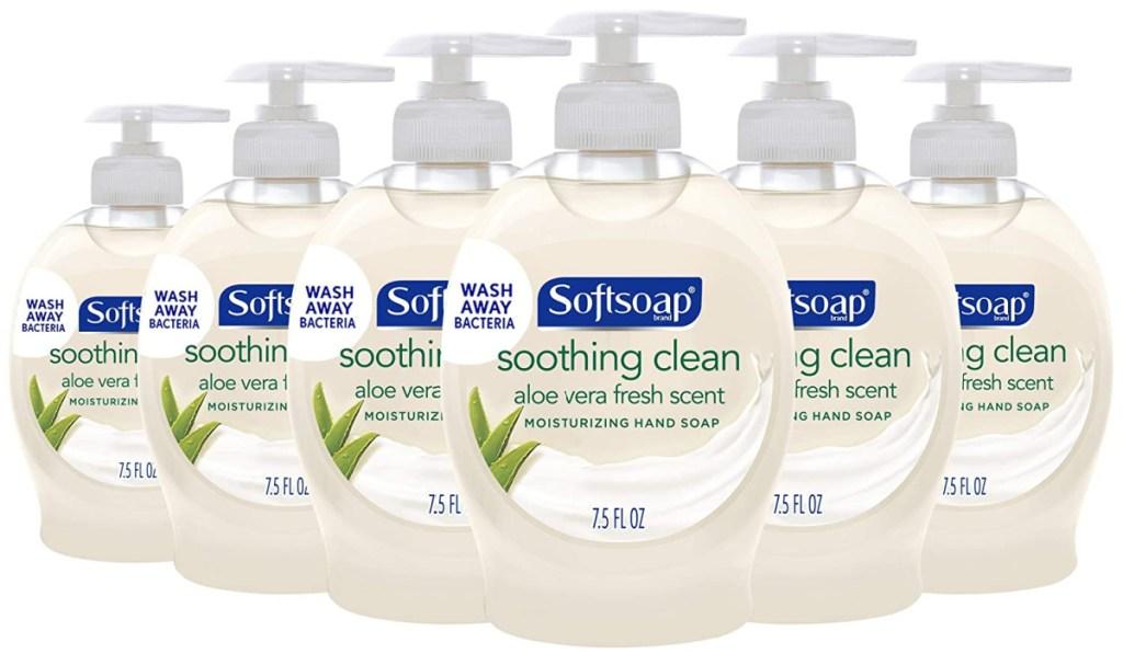 aloe vera hand soap six pack