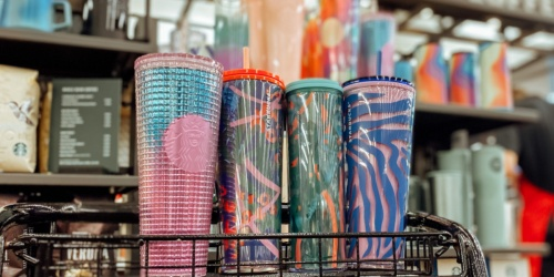 *NEW* Back To School Starbucks Reusable Tumblers & Summer Designs Available