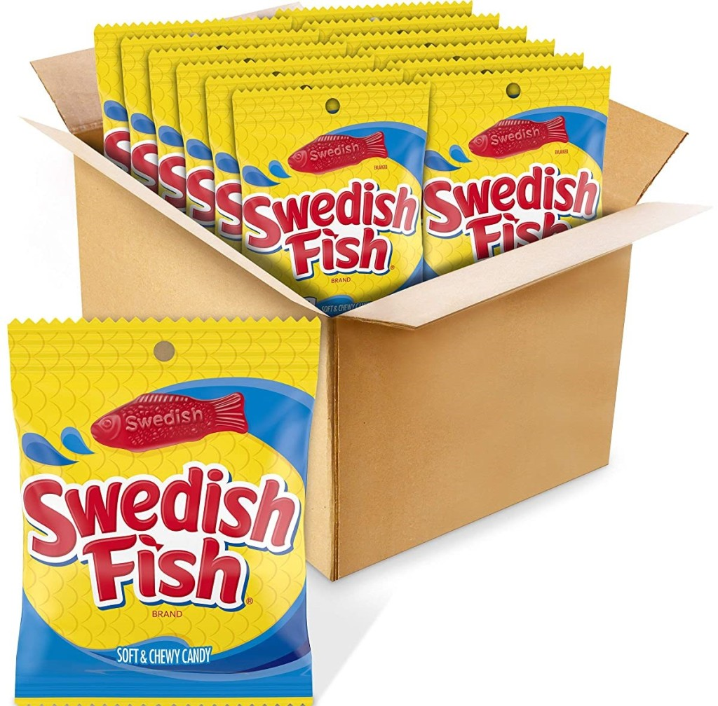 box of Swedish Fish
