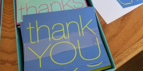 American Greetings Thank You Cards w/ Envelopes 50-Count Only $7.98 on Amazon (Regularly $14)