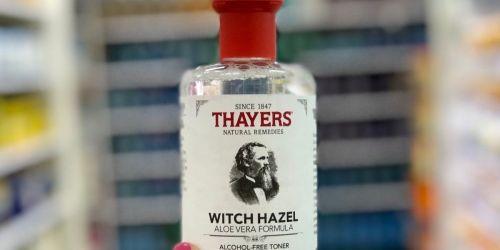 Thayers Witch Hazel Cucumber Toner Only $5.45 Shipped on Amazon