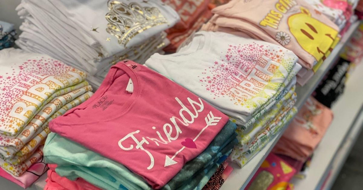 The Children's Place Graphic Tees in store