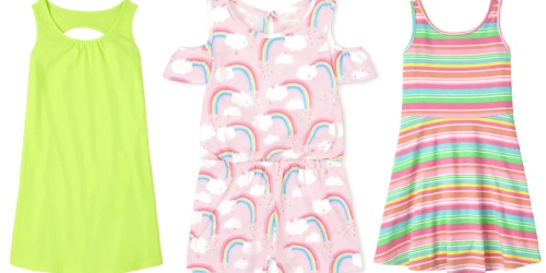 The Children's Place Girls Rompers & Dresses from $4.99 Shipped (Regularly $17+)