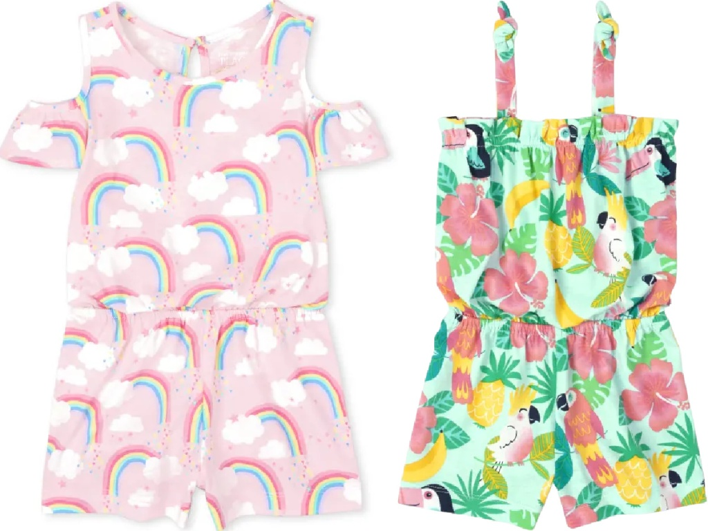 The Children's Place Rompers