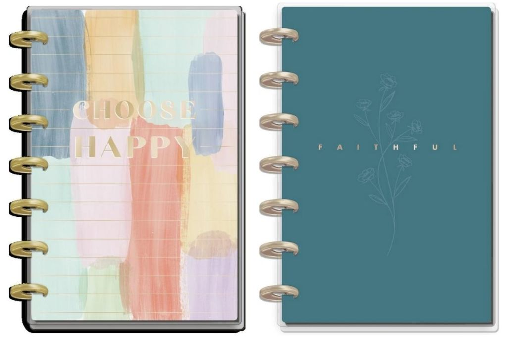 2 The Happy Planner Classic Mini 12 Month Planners