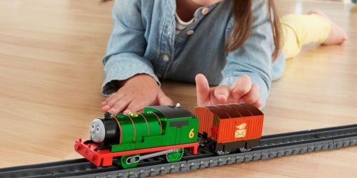 Thomas & Friends Percy Motorized Engine Only $5.77 on Amazon or Target.com