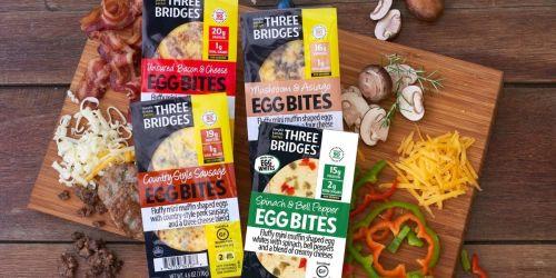 NEW Three Bridges Coupon = $1.50 Egg Bites at Kroger (Regularly $4)