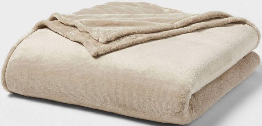 Threshold Fleece Plush Blanket