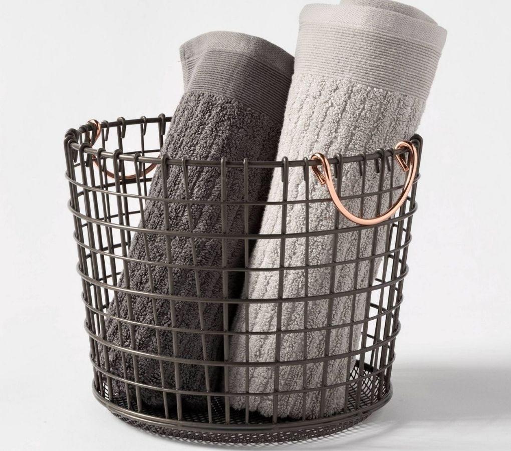 Threshold Metal Storage Basket