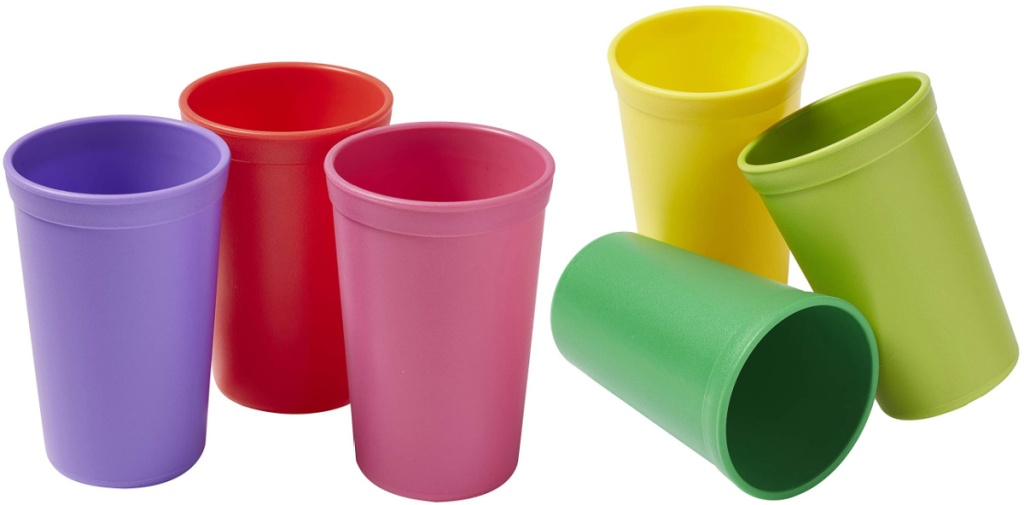 two three packs of cups
