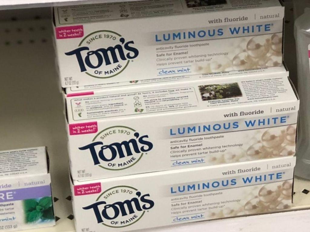 Tom's Luminous Toothpaste