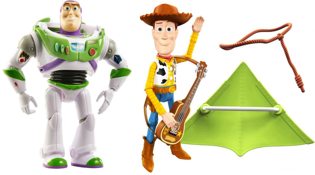 toy story buzz lightyear and woody action figures