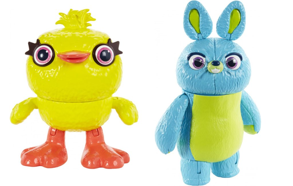 toy story ducky & bunny action figures