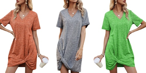Women's Twist-Front Dresses Only $9.99 on Zulily (Regularly $36)