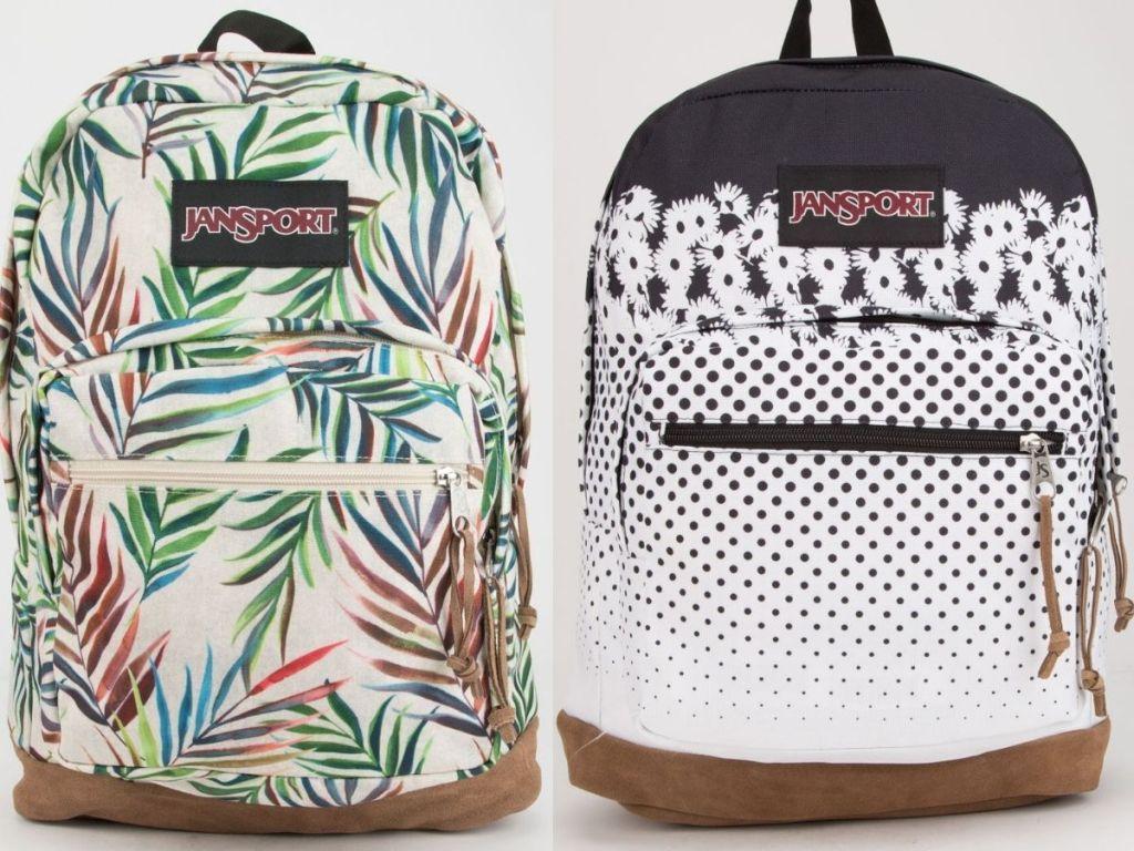Two Jansport Backpacks