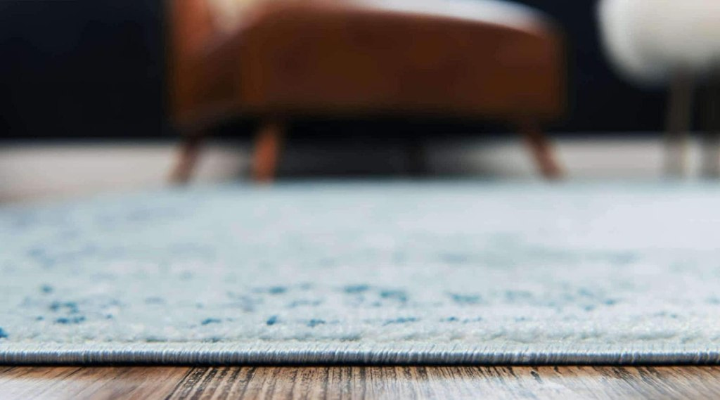 Unique Loom Sofia Collection Traditional Vintage Area Rug, 2' 2 x 3', Light Blue:Navy Blue