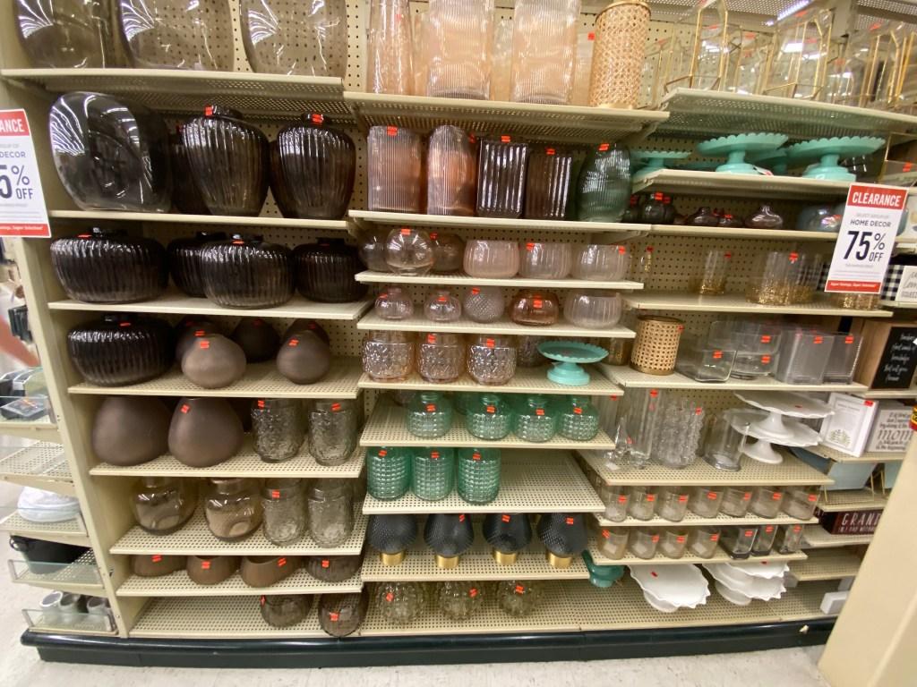 Vases at Hobby Lobby
