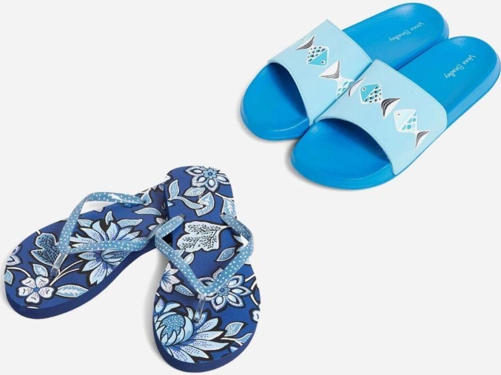 Vera Bradley Flip Flops and Slides