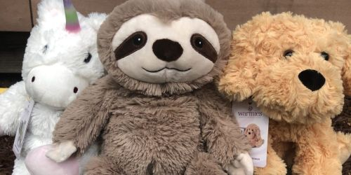 Warmies Large Lavender-Scented Plush Animals Only $19.99 Shipped (Regularly $40)