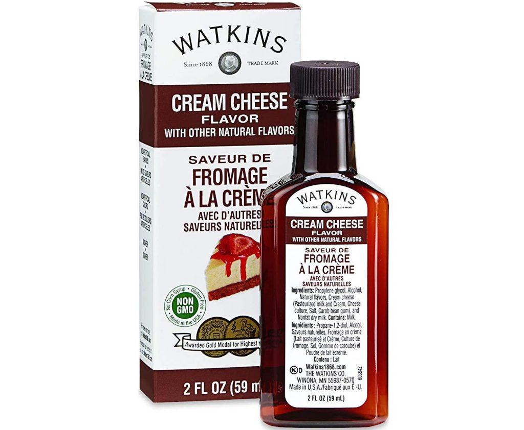 Watkins Cream Cheese Flavor