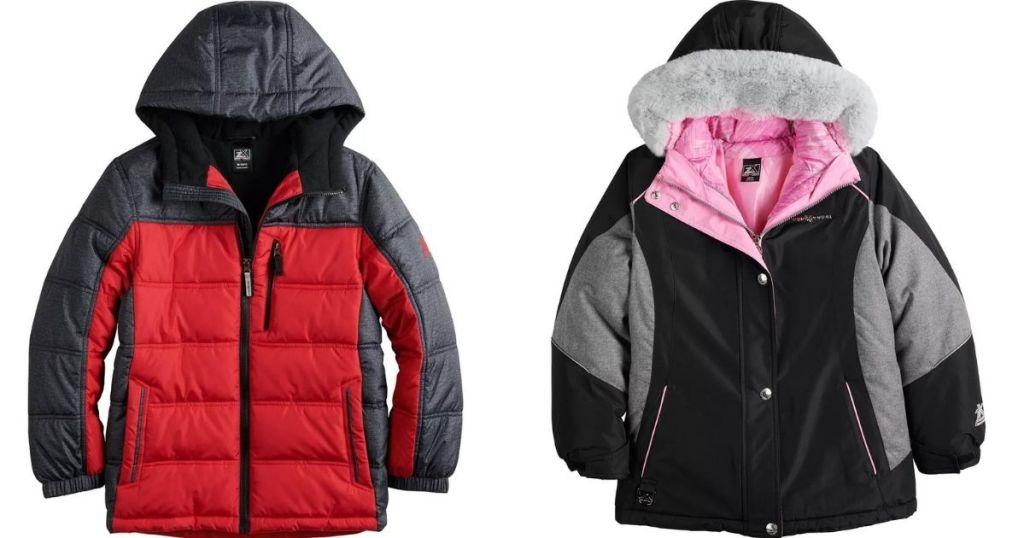 two kids jackets
