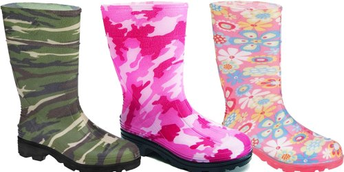 Kids Rain Boots Only $7.99 on Zulily (Regularly $25) + Extra Savings for Military & Teachers