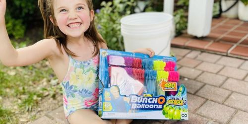 Bunch o' Balloons Fill in Seconds & Are Perfect for Summer Fun | 420 Water Balloons Only $26.81 on Zulily.com