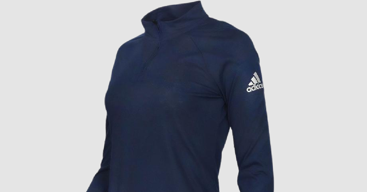 stock image of an adidas pullover