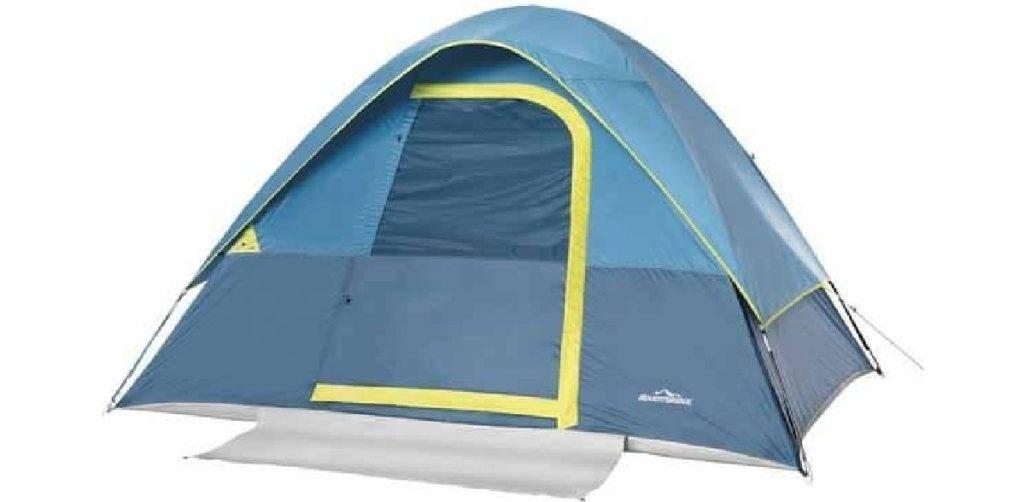 aldi tent opened