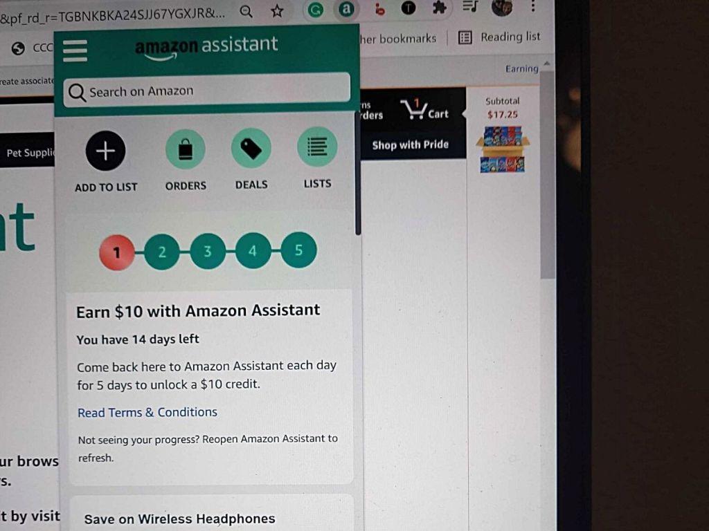 Amazon Assistant screen shot