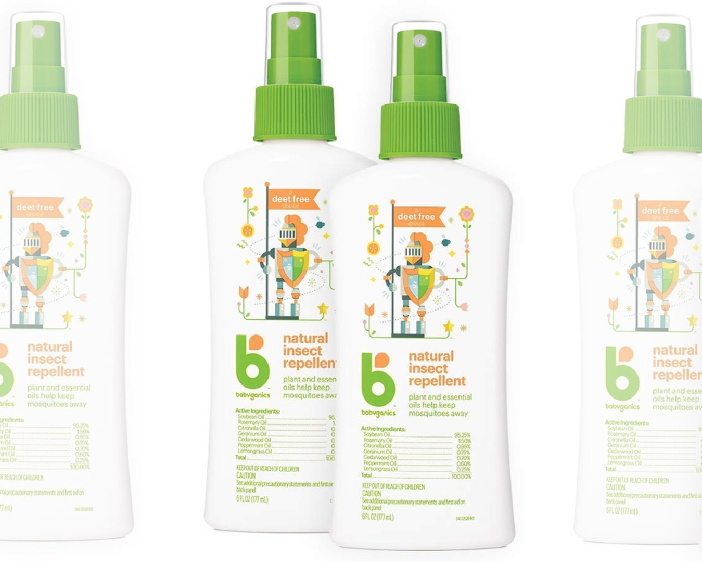 babyganics bug spray 2-pack