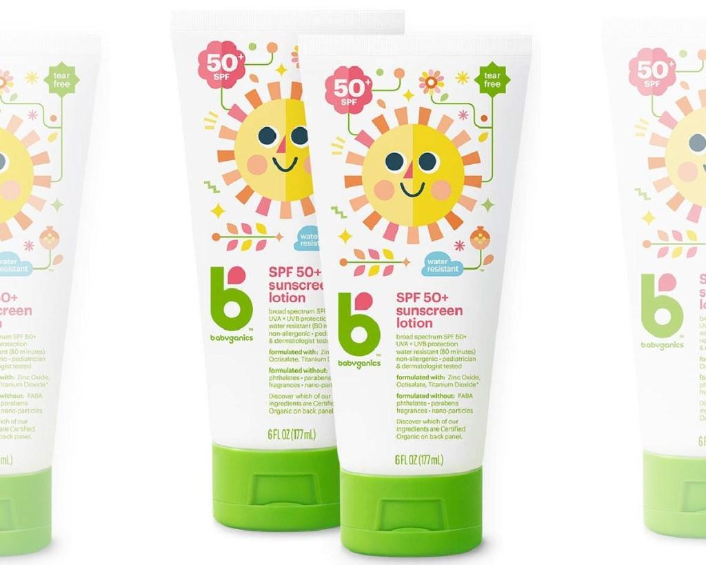 babyganics sunscreen lotion 2-pack