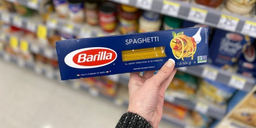 Barilla Spaghetti 8-Count Only $7.46 Shipped on Amazon | Just 93¢ Per Box