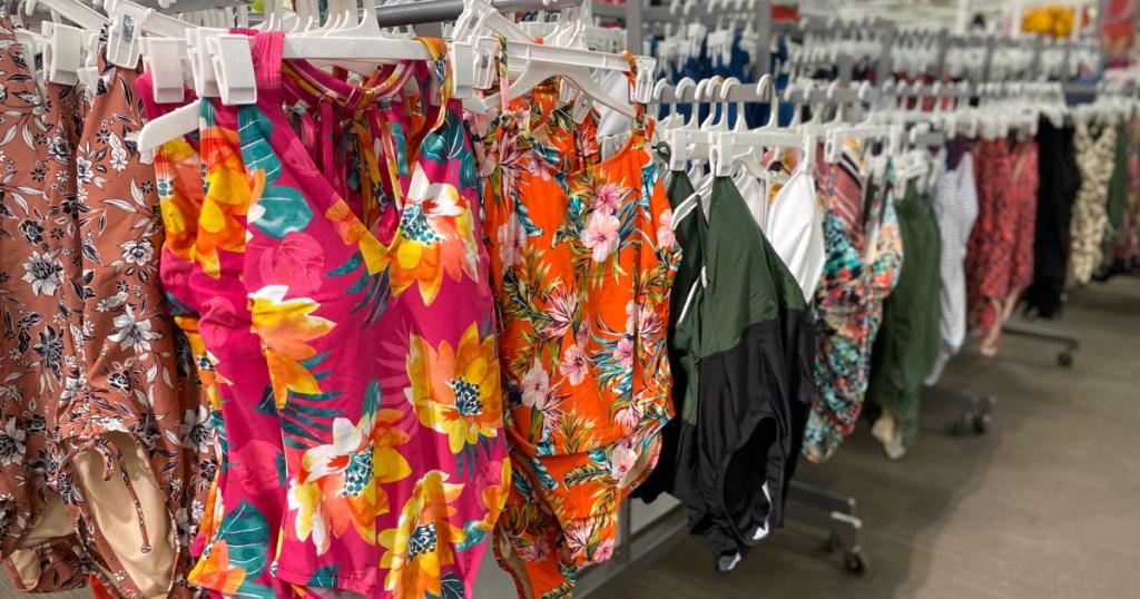 bathing suits inside Target