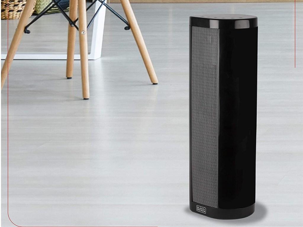 black space heater