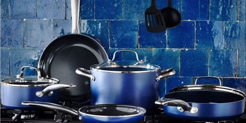 Blue Diamond 10-piece Ceramic Nonstick Cookware from $76.99 Shipped + Earn $10 Kohl's Cash